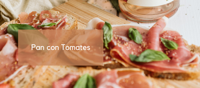 Pan con Tomates